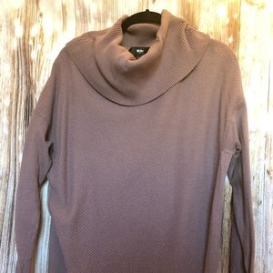 Mossimo Cowl Neck Sweater Dress w/ zipper detail
